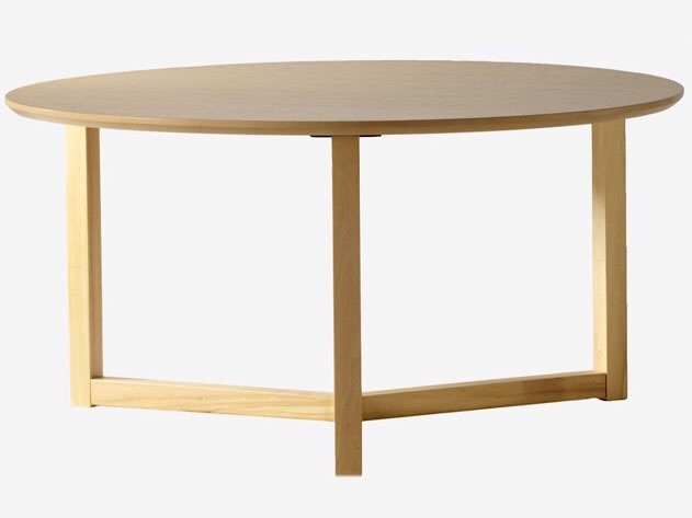 Ash-colored Brussels coffee table