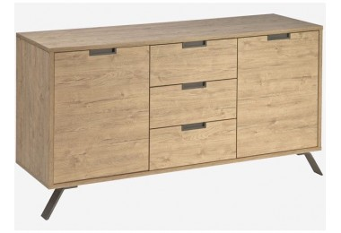 Palermo sideboard with 2 doors and 3 drawers