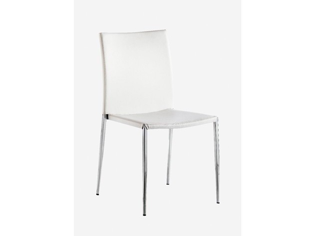 Lucca White Chair