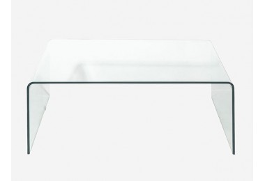 Transparent Murano glass coffee tables
